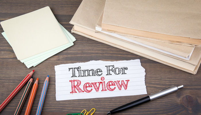 time-for-review-note-desk